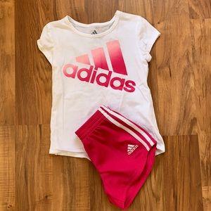 Adidas athletic wear. Size 4